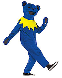 Grateful Dead Blue Dancing Bear Adult Costume