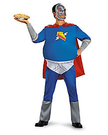 Adult Pie Man Plus Size Costume - The Simpsons