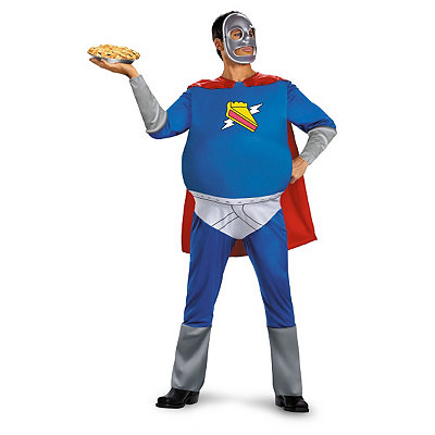 Simpsons Pie Man Adult Plus Size Costume