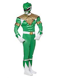 Adult Muscle Green Ranger Costume - Power Rangers