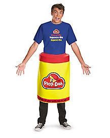 Adult Play-Doh Deluxe Costume - Play Doh