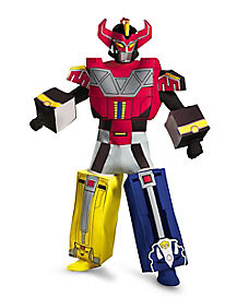 Adult Megaforce Megazord Costume Deluxe - Power Rangers