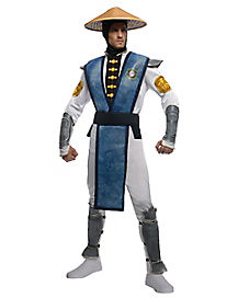 Mortal Kombat Raiden Deluxe Adult Mens Costume