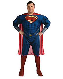 Superman Man of Steel Deluxe Adult Plus Size Costume