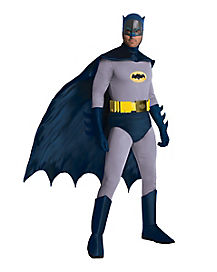 Adult  1960's TV Classic Batman Costume Theatrical- DC Comics