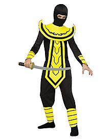 Kids Yellow Master Ninja Costume