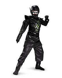 Kids Core Ninja Costume - Deluxe