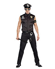 Dirty Cop Ed Banger Mens Costume