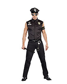 Adult Ed Banger Dirty Cop Plus Size Costume