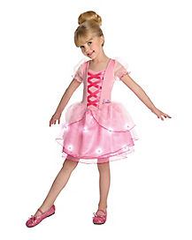 Kids Light Up Barbie Ballerina Costume - Barbie
