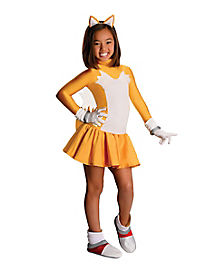 Kids Tails Dress Costume - Sonic The Hedgehog