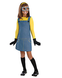 Despicable Me 2 Minion Girls Costume