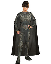 Kids Faora One Piece Costume - Man of Steel