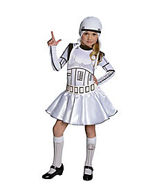 Kids Stormtrooper Dress Costume - Star Wars