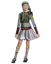 Kids Boba Fett Dress Costume - Star Wars