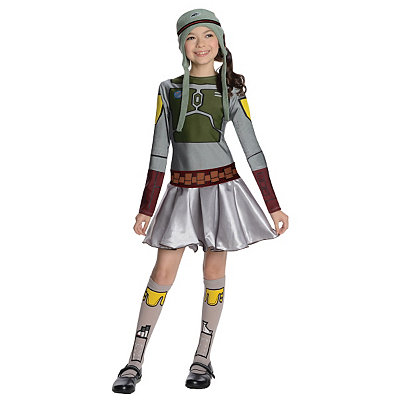 Star Wars Boba Fett Girls Costume