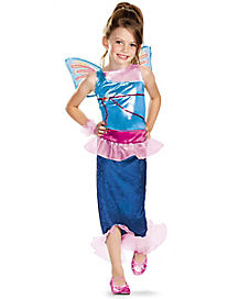 Winx Club Bloom Mermaid Child Costume