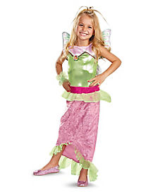 Kids Mermaid Flora Costume - Winx Club
