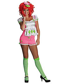 Adult Strawberry Shortcake Costume - Strawberry Shortcake