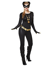 Adult 1960s Catwomen Costume - DC Comics