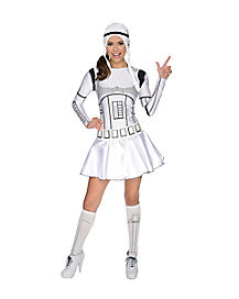 Storm Trooper Adult Womens Costume