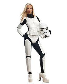 Star Wars Storm Trooper Adult Womens Costume
