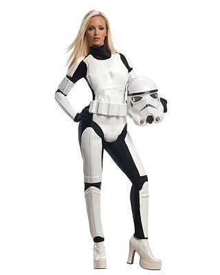 Click Here to buy Star Wars Storm Trooper Womens Costume from Spirit Halloween