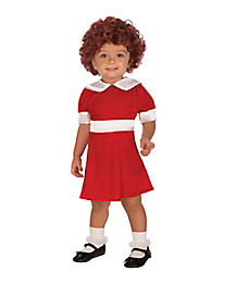 Annie Dress Toddler Costume