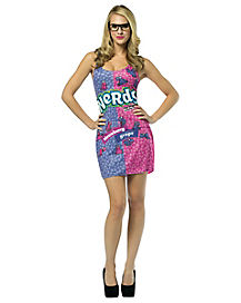Adult Nerds Tank Dress Costume - Wonka Nerds