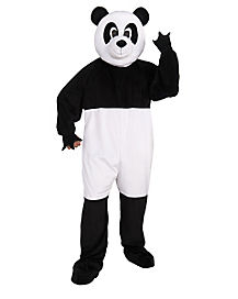 Adult Panda Mascot One Piece Costume