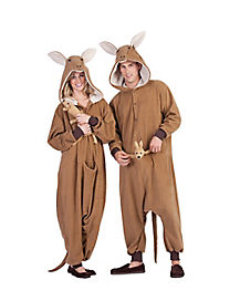 Adult One Piece Kangaroo Costume