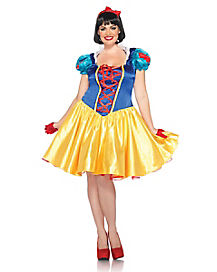Adult Priness Snow White Plus Size Costume - Disney