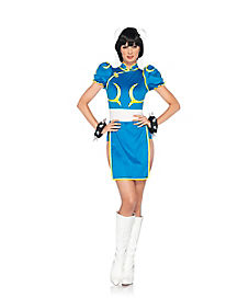 Adult Chun Li Costume - Street Fighter II