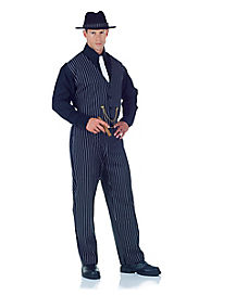 Mobster Adult Mens Costume