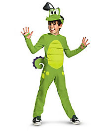 Kids Swampy Boys One Piece Costume - Where Is My Water