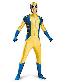 Kids Wolverine Skin Suit Costume - Spiderman