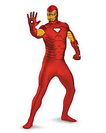 Kids Iron Man Skin Suit Costume - Marvel