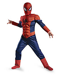Kids Light Up Ultimate Spiderman Costume - Marvel Comics