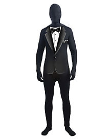 Tuxedo Skin Suit Adult Plus Size Costume