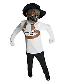 Kids Scarecrow Straitjacket Costume - DC Comics