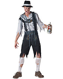 Oktober Feast Adult Mens Zombie Costume