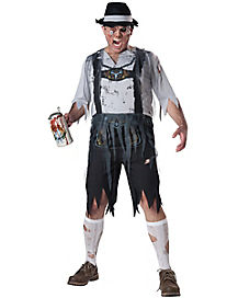Oktober Feast Adult Mens Plus Size Zombie Costume
