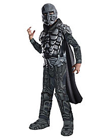 Kids General Zod Costume Deluxe - Man of Steel