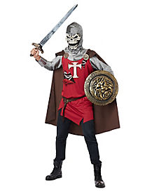 Skull Knight Adult Mens Costume