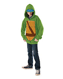 Kids Leonardo Hoodie - Teenage Mutant Ninja Turtles