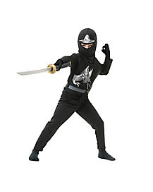 Kids Avenger Black Ninja Costume