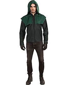 Arrow Deluxe Adult Mens Hoodie with Gloves