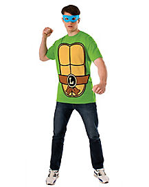 Leonardo T-Shirt and Mask- Teenage Mutant Ninja Turtles