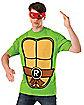 Raphael T-Shirt and Mask- Teenage Mutant Ninja Turtles