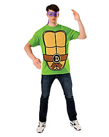 Donatello T-Shirt and Mask- Teenage Mutant Ninja Turtles